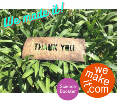 Our crowdfunding campaign was a success!